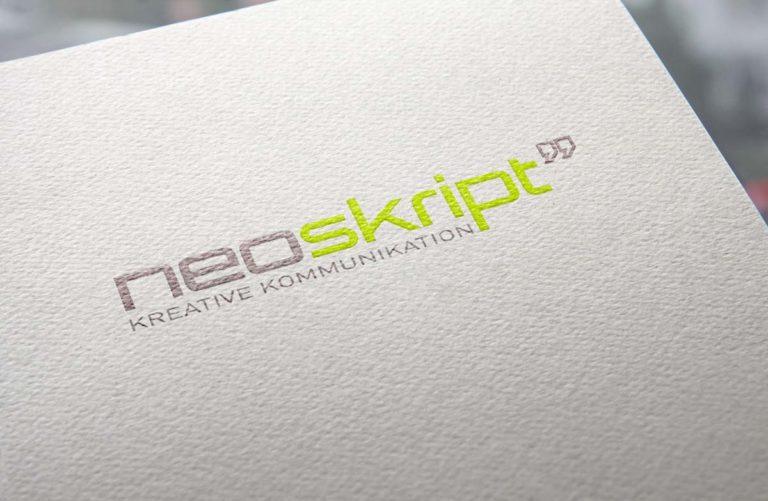 Logo-Design für neoskript